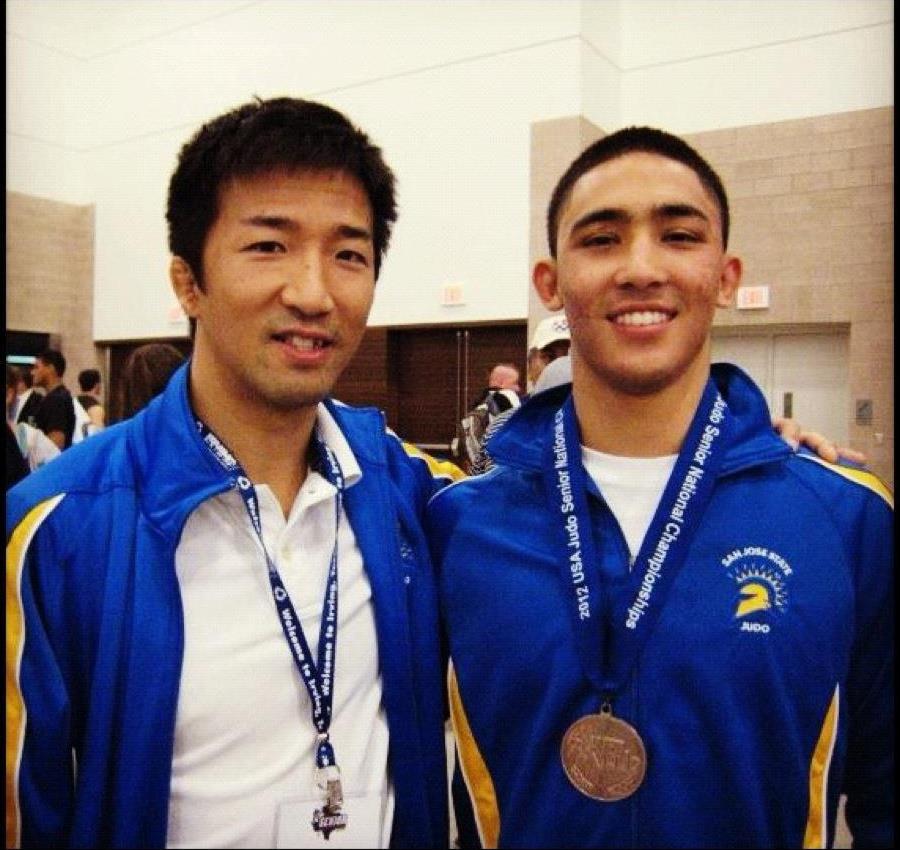 Anthony & Shintaro - San Jose State Judo