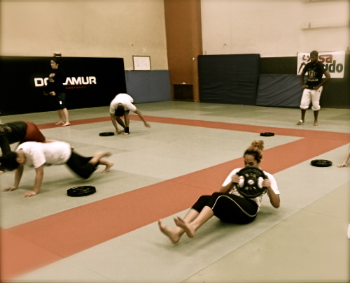 Strength and Conditioning in Spartan Style -SJSU Judo