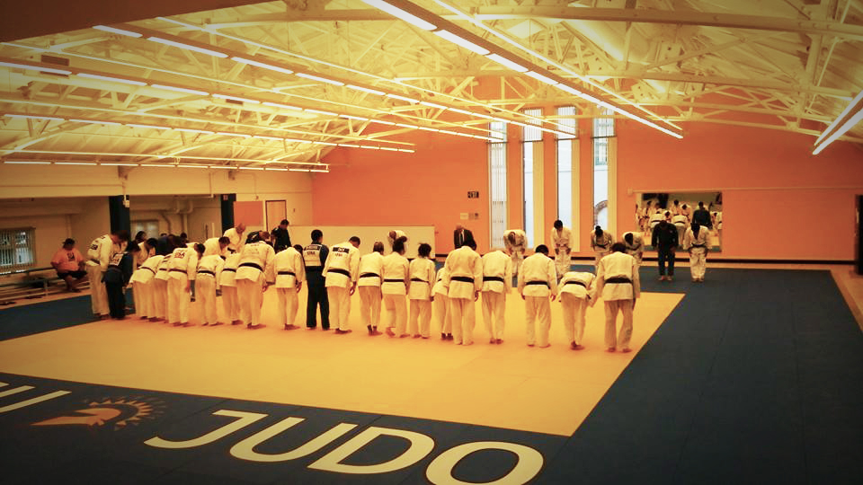 San Jose Judo Practice at their new facility